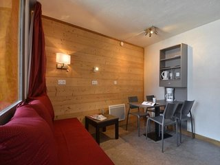 Studio rénové pour 3/4 personnes de 22 m², au cœur de la station
