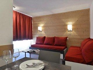Appartement rénové composé de 2 pièces pour 5 personnes de 35 m²