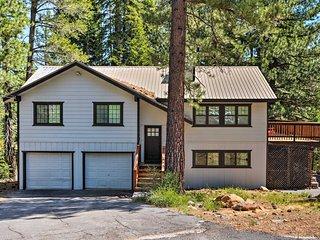 NEW! Tahoe Donner House - 10 Min to Dwtn Truckee!
