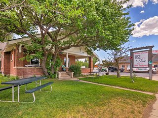 NEW! Panguitch Studio w/Porch & Attached Bakery!