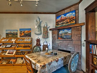 NEW! Panguitch Studio on Main Street Near Hiking!