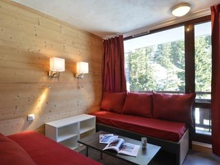 Studio divisible rénové pour 4 personnes au cœur de la station, 25 m²