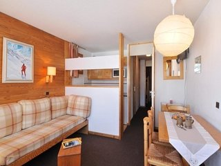 Appartement au pied des pistes composé de 2 pièces pour 5 personnes de 28 m²