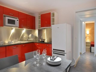 Appartement rénové de 3 pièces pour 7 personnes de 51 m²