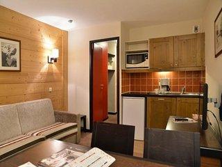 Appartement au pied des pistes 2 pièces 4 personnes de 27m²