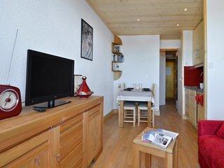 Studio cabine rénové pour 4 personnes de 23 m² au pied des pistes
