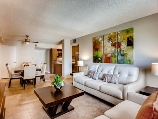 ON THE STRIP! | Stunning 2 Bdrm Condo | REMODELED!