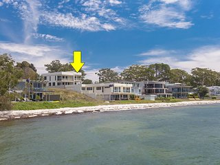 2/141A Soldiers Point Road - large waterfront across from the bowling club