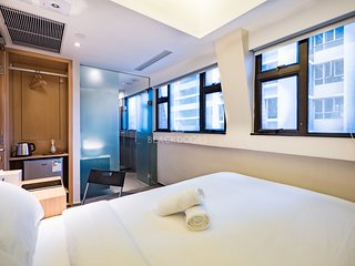 Executive Modern & Bright Room, 2 mins to MTR