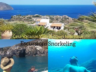 Villa di Lipari Isole Eolie - Monolocale Pagghia