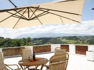 Casa indipendente con terrazzo panoramico