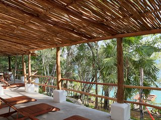 Beautiful House with Private Pier in Bacalar | Casa Marivan