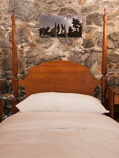 Dormitorio con Fotos Tajinaste en cabezal