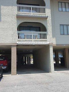 Las Palmas 114 first floor balcony