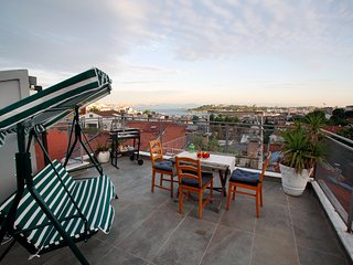 Magnificent Private Terrace w/Sea View in Taksim
