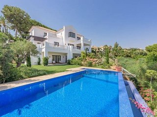 Luxury Villa Amal with sea view - Benahavis