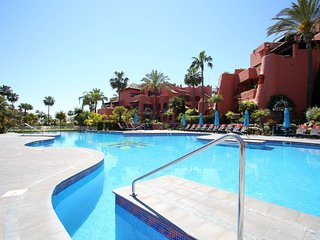 Three Bedroom Luxury Frontline Beach Penthouse near Estepona