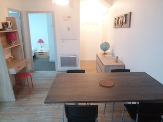 Appartement T2  50 m2, Parking Gratuit