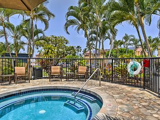 NEW! Kailua-Kona Condo-Resort Access & Ocean View!