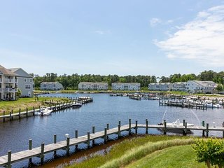 Spacious waterfront home w/ dock, fireplace, game room, & free WiFi!