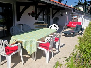 Biarritz F4 (8 pers), terrasse plein sud, tout confort / Penthouse flat (8 peop)
