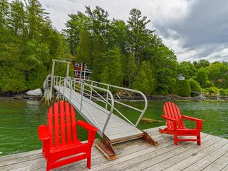 Cozy, waterfront cabin-style home w/ private dock and lovely views!