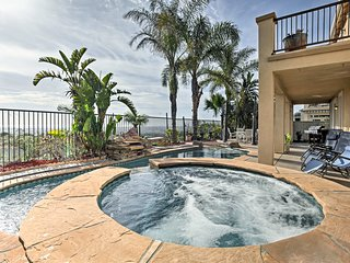 Luxury Oceanfront Getaway w/ Pool, Patio + Hot Tub