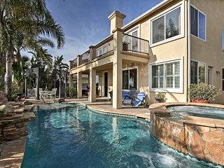 Luxury San Diego Home w/Pool, Balcony & Beach View