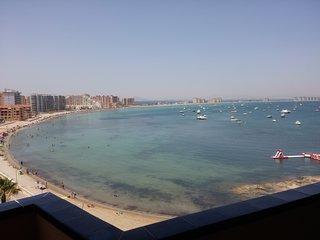 Primera linea de playa!!.la manga del mar menor!!!!