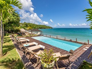 La Sirene du Diamant,Martinique beachfront rental villa