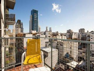 Económico, luminoso y en la mejor ubicación de Buenos Aires