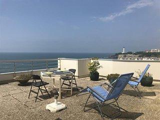 Appartement Victoria Surf P804 : Grande terrasse avec vue imprenable sur la gran