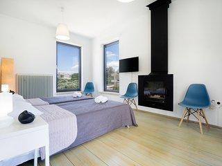 Modern & comfy 2BD flat near Chania and Sea