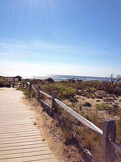 Nearest ocean beach at Marconi