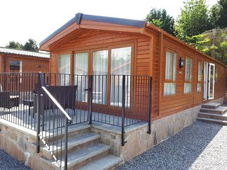 Lodge for rent in beautiful Perthshire countryside