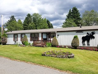 Pitt Stop Inn located in historic village of Pittsburg. Snowmobile trail access.