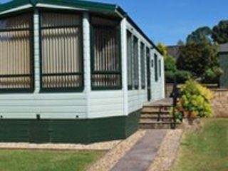 The Monaco, Kendal Caravan Site, a secluded, tranquil location for adults only.