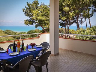 Private Villa with Sea View, located near the Sandy Beach of Alcamo