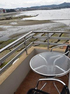 Terraza 1 y marea baja