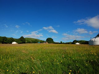 Valley Yurts Glamping Mid Wales