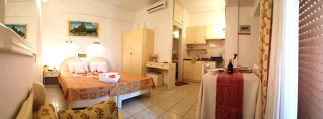 standard apartment for 2-3 persons 30 m2 with private balcony and beautiful views