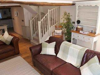 Lovingly furnished living room