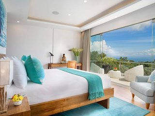 Villa KaliBali, 4 bedroom, Bukit stunning views, fully staffed with private chef