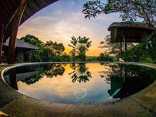 Sunrise at Villa Colony