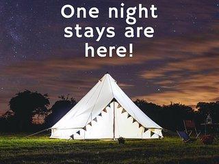 Burnham Market Bell tents by 2posh2pitch on the North Norfolk coast