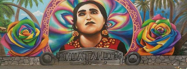 Zihuatanejo Väggmålning