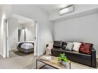 Super convenient pad with resort-style extras