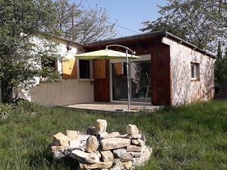 maison individuelle sur terrain arbore-fruite