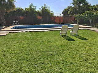 Chalet con piscina en el colorado, conil