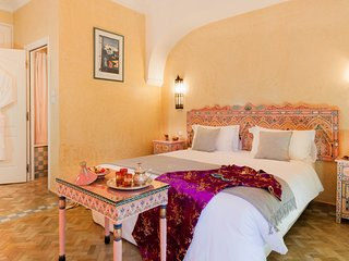 Chambre double dans une villa de charme au cœur de la palmeraie Marrakech
